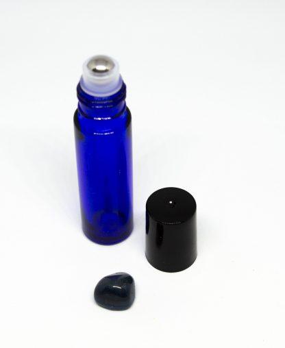 10 ml roll-on kék folyadéküveg