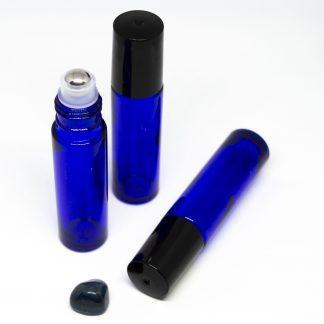 10 ml roll-on kék folyadéküveg 3db-os csomagban