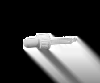 Műanyag kupak – pipettás (18 mm)