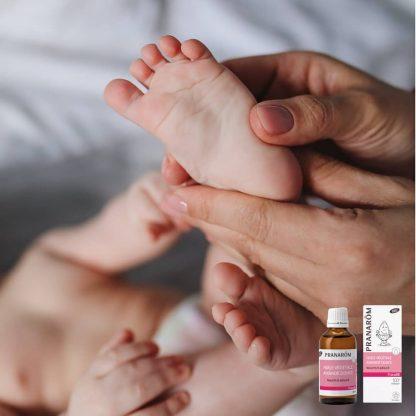 Testápoló masszázsolaj vaníilával- BIO – PranaBB