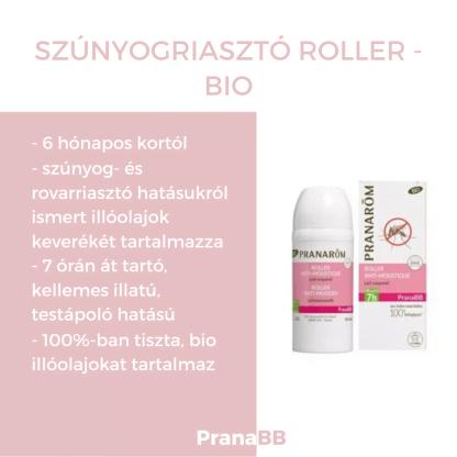 Szúnyogriasztó roller – BIO – PranaBB