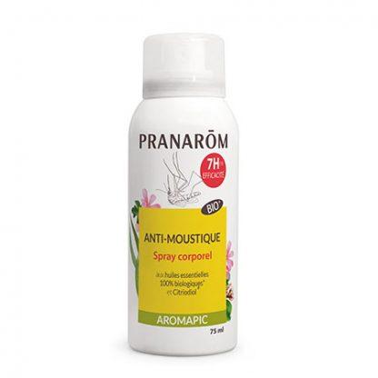 Szúnyog- és rovarriasztó spray bőrre – BIO – Aromapic – Pranarom