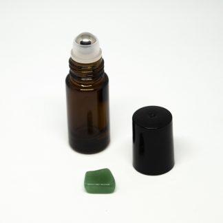 5 ml roll-on barna (vastag falú) folyadéküveg
