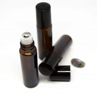 10 ml roll-on barna folyadéküveg 3db-os csomagban