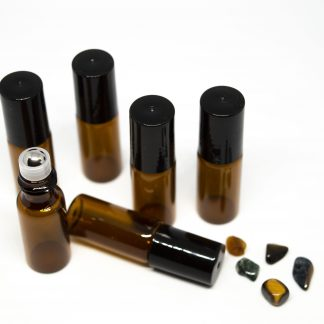 5 ml roll-on barna folyadéküveg 6db-os csomagban