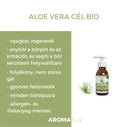 Aloe vera gél – BIO