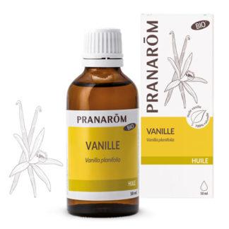 Vaníliás testápoló olaj – BIO