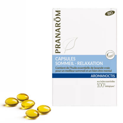 Aromanoctis forte – Alvást és relaxációt segítő kapszula – BIO